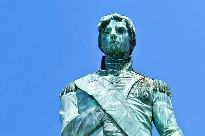 Das Lord Nelson-Denkmal in Bridgetown, Barbados  - © graham tomlin / Shutterstock