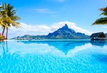 Wunderschöner Blick auf den Berg Otemanu in der Lagune von Bora Bora, Französisch-Polynesien - © BlueOrange Studio / Shutterstock