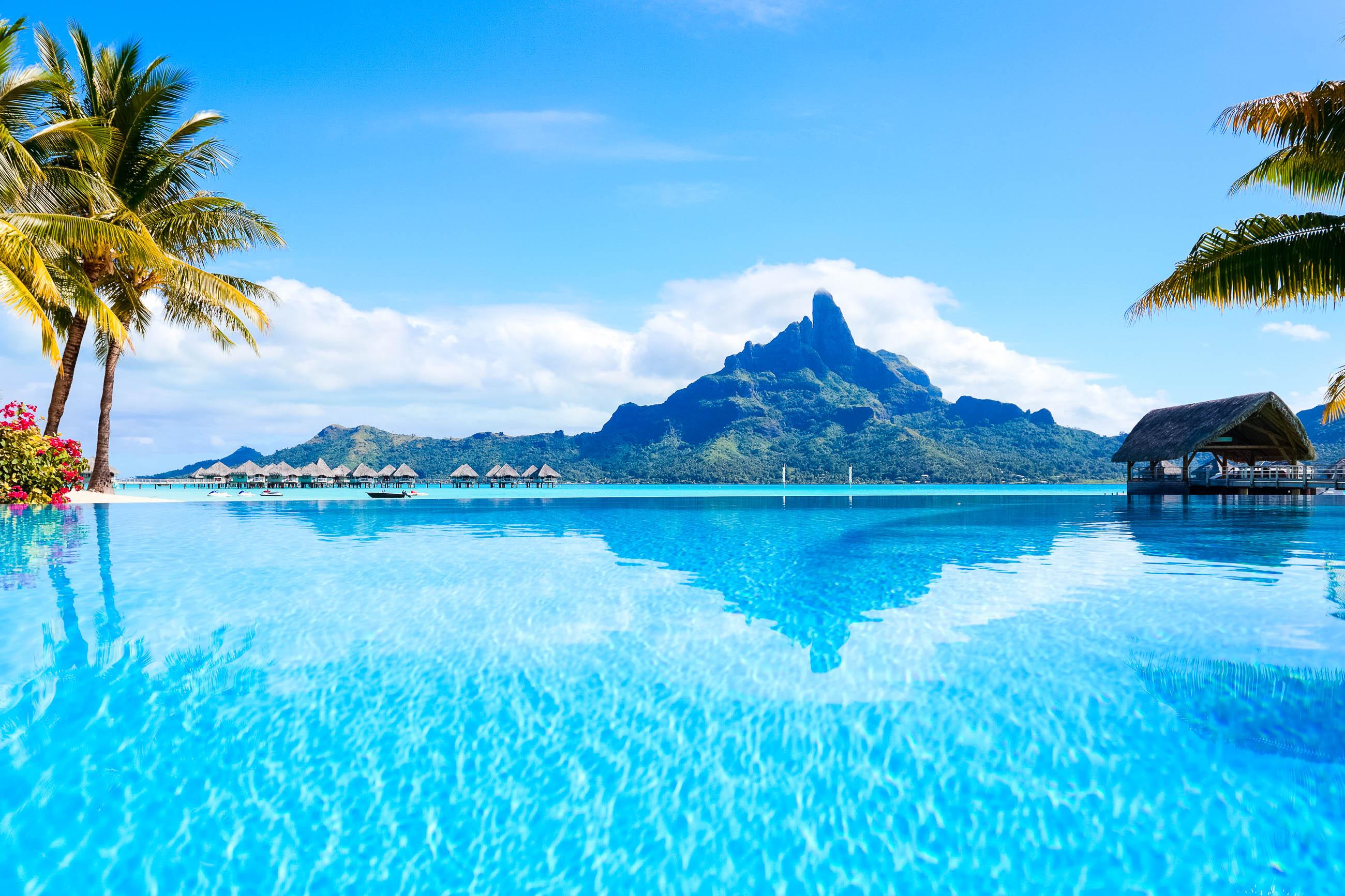 bilder lagune von bora bora franz sisch polynesien franks travelbox. Black Bedroom Furniture Sets. Home Design Ideas