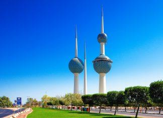 Die berühmten Wassertürme in Kuwait City sind ein Ensemble aus drei eindrucksvollen Türmen, von denen zwei tatsächlich als Wasserspeicher genutzt werden - © Sophie James / Shutterstock