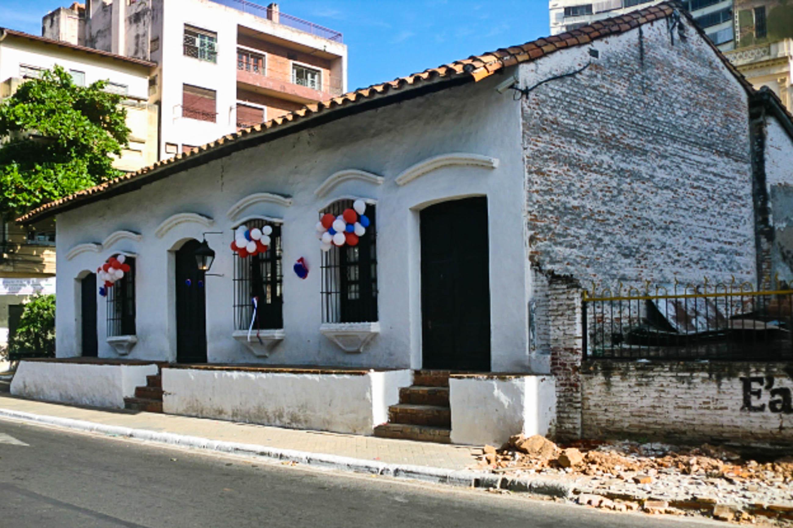 Casa de la independencia in asunci n paraguay franks for Casa jardin la asuncion