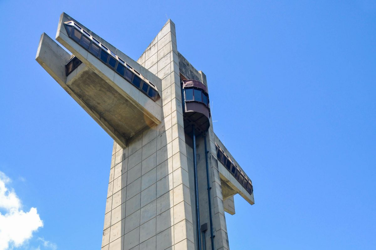 Der Wachturm La Cruz del Vigia auf em El Vigia Hügel, Ponce, Puerto Rico - © Alberto Loyo / Shutterstock