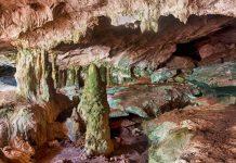 Die Kalksteinhöhlen bei Conch Bar wurden über Jarhmillionen durch Erosion geformt, Turks- und Caicosinseln - © Karen Wunderman / Shutterstock