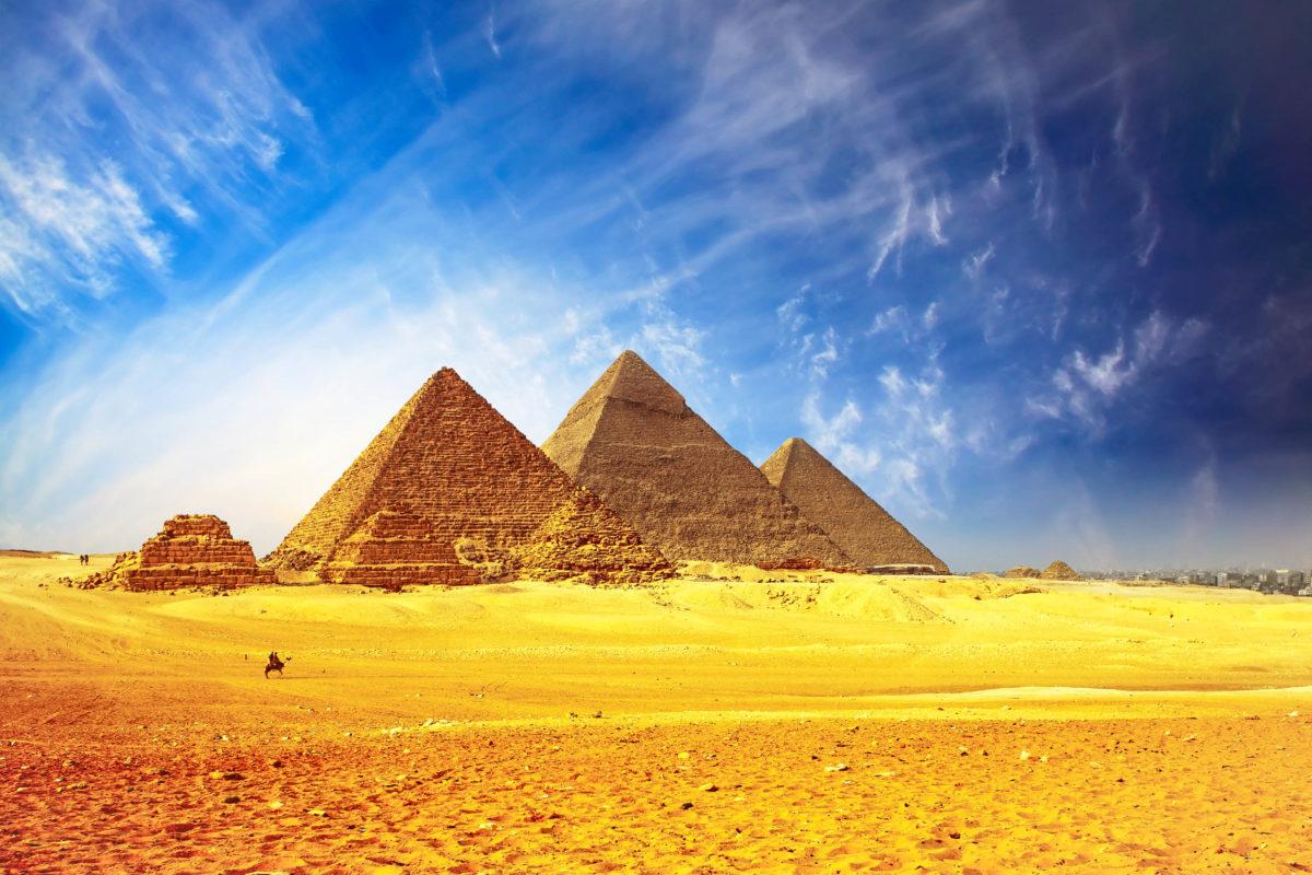 Altes ägypten Pyramiden