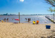 Vor allem in den Sommermonaten lädt der Rio Paraná im Norden von Rosario zum Baden, Flanieren und Relaxen ein, Argentinien - © RENATO SEIJI KAWASAKI/Shutterstock