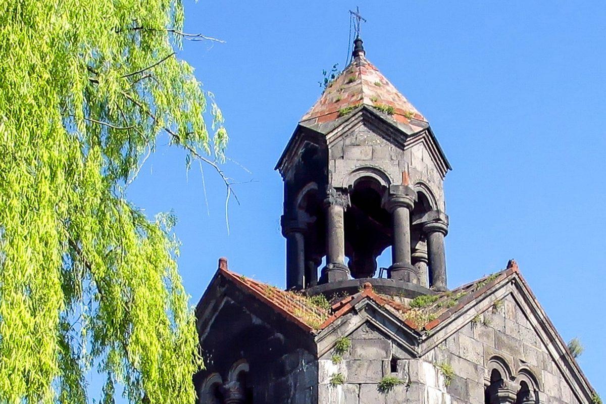 Detailansicht des Glockenturm des Klosters Haghpat in Armenien - © Zorik Galstyan / Shutterstock