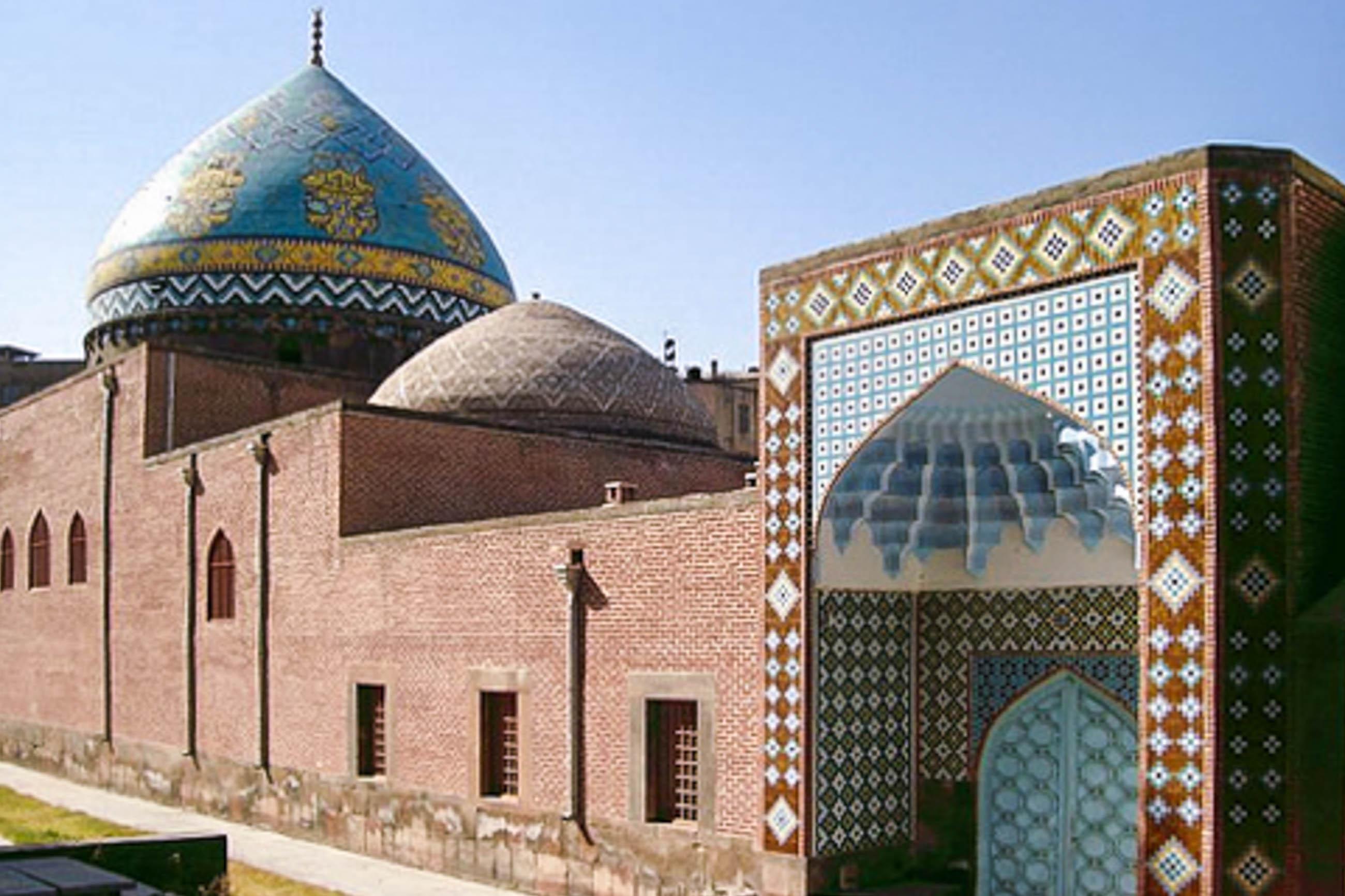 Blaue Moschee In Jerewan Armenien Franks Travelbox