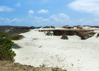 Der weiße Sand der Boca Prins wurde durch den ständigen Wind zu sanften Dünen aufgeworfen, die im Arikok Nationalpark ein auf Aruba einmaliges Landschaftsbild bieten - © James Camel / franks-travelbox