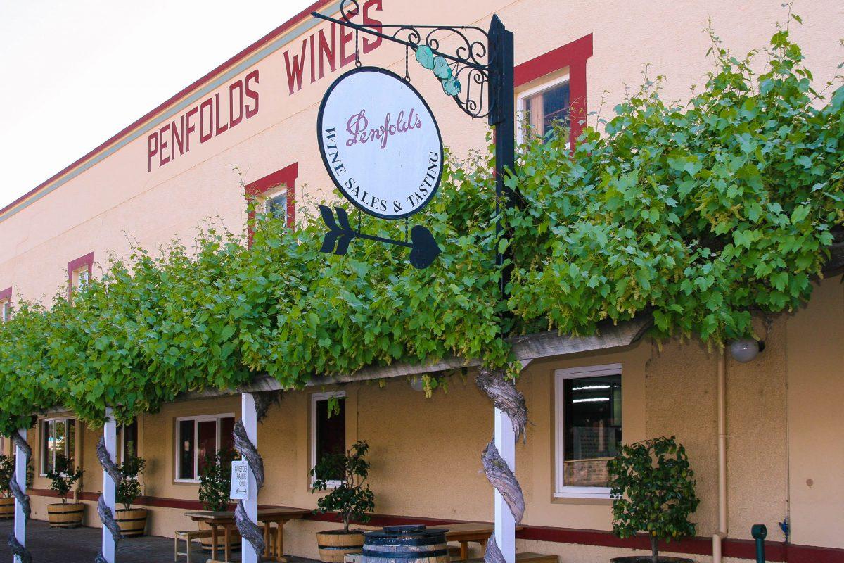"""Das bei Weinkennern weltberühmte Weingut """"Penfolds"""" im Barossa Valleys ist immer einen Besuch wert, Australien - © ezk / franks-travelbox"""