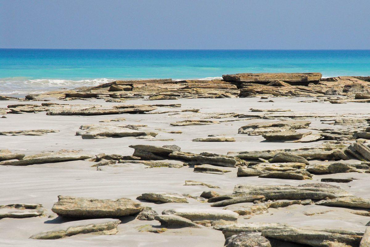 Der bei Touristen besonders beliebte kilometerlange Sandstrand Cable Beach, Australien - © Emilie Bélair / Fotolia