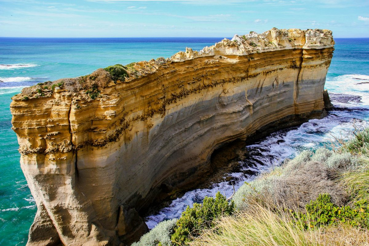 Fantastische Felsformation an der berühmten Panoramastraße Great Ocean Road an der Südküste Australiens  - © ezk / franks-travelbox