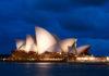 Nächtlicher Blick auf das weltberühmte Opernhaus von Sydney - seit 2007 ein Teil des UNESCO Weltkulturerbes, Australien - © ezk / franks-travelbox