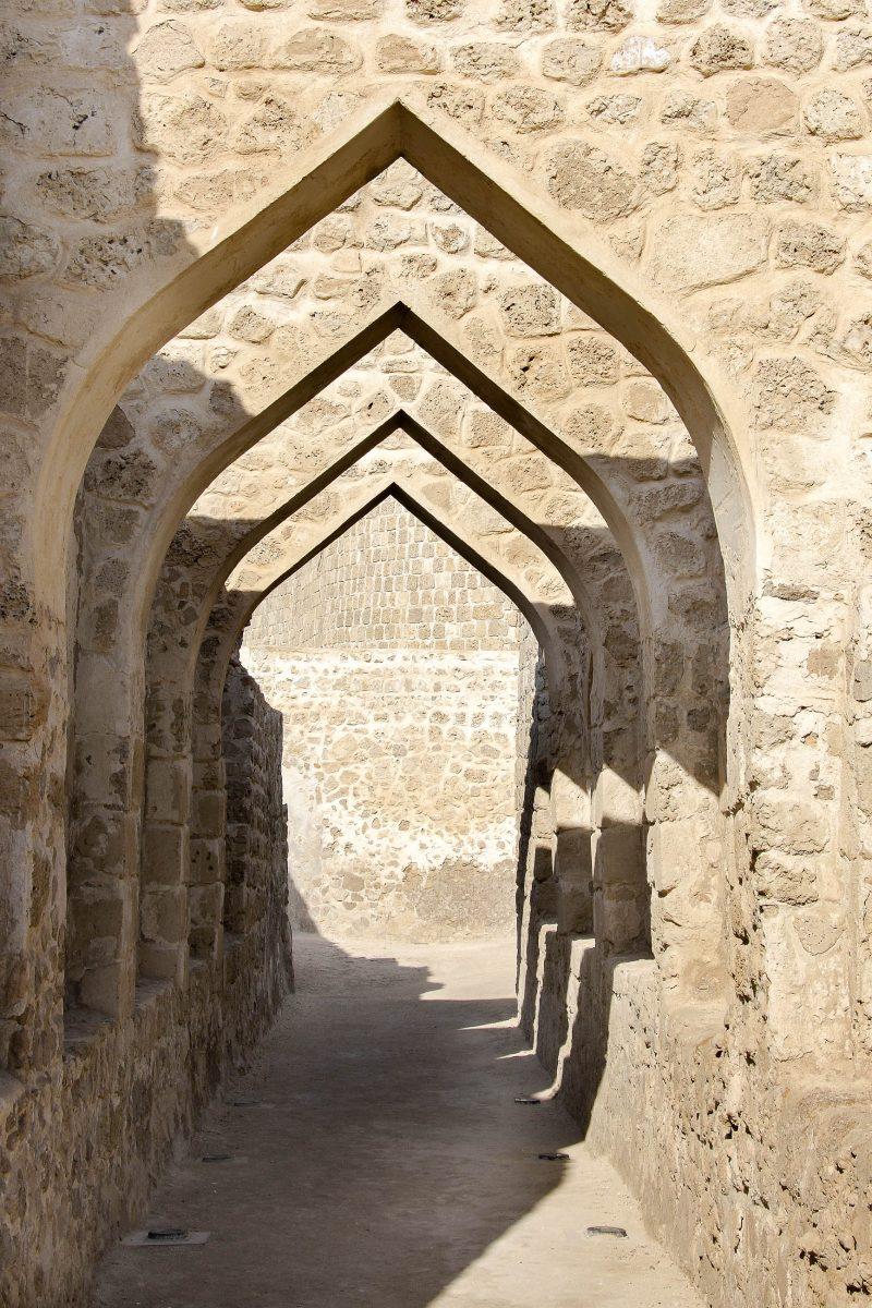 Die Festung der Portugiesen in Qal'at al-Bahrain ist heute noch in äußerst gutem Zustand und vermittelt die Atmosphäre von vor 400 Jahren - © Dr Ajay KumarSingh/Shutterstock