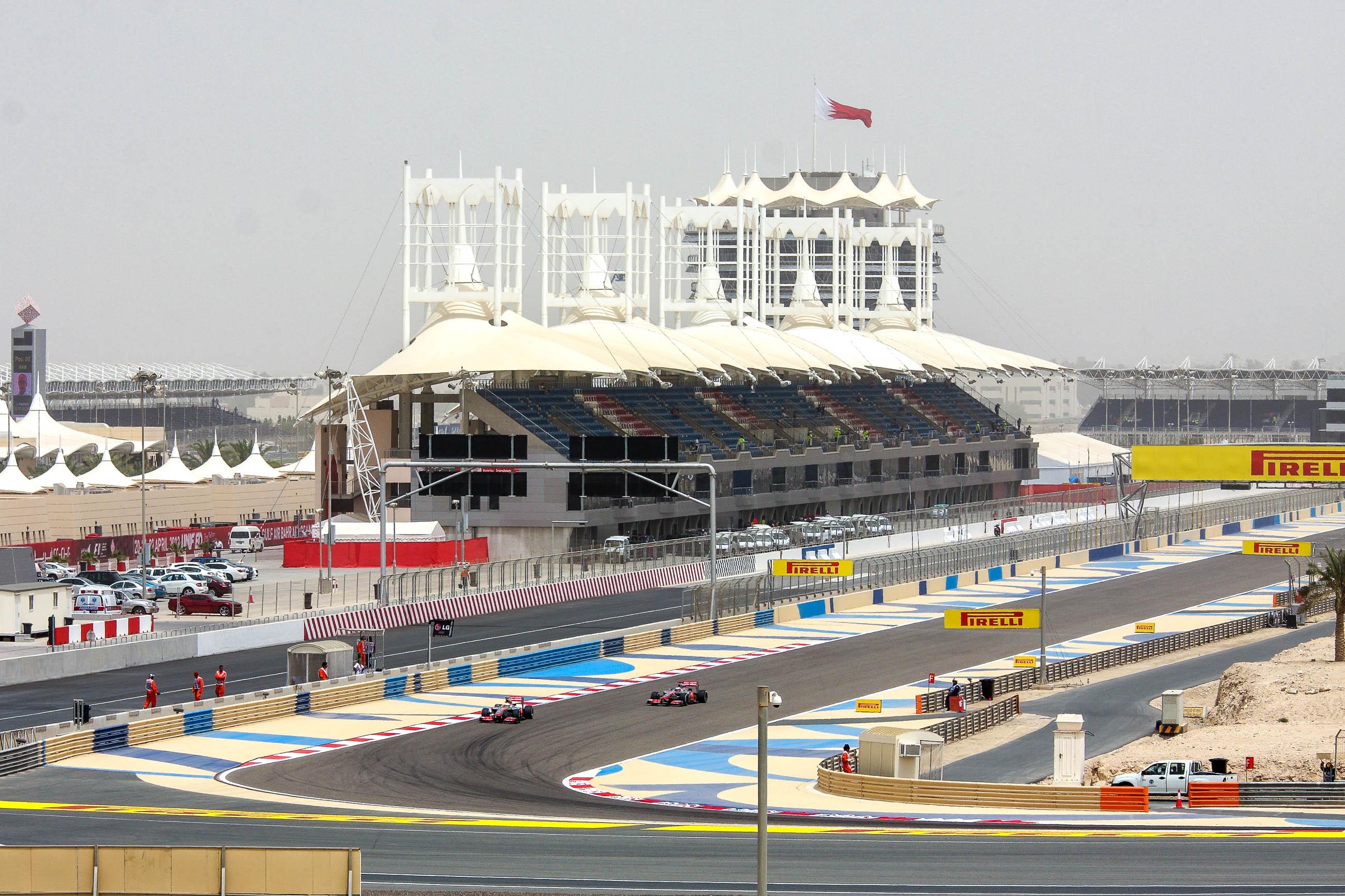 bahrain formel 1 strecke