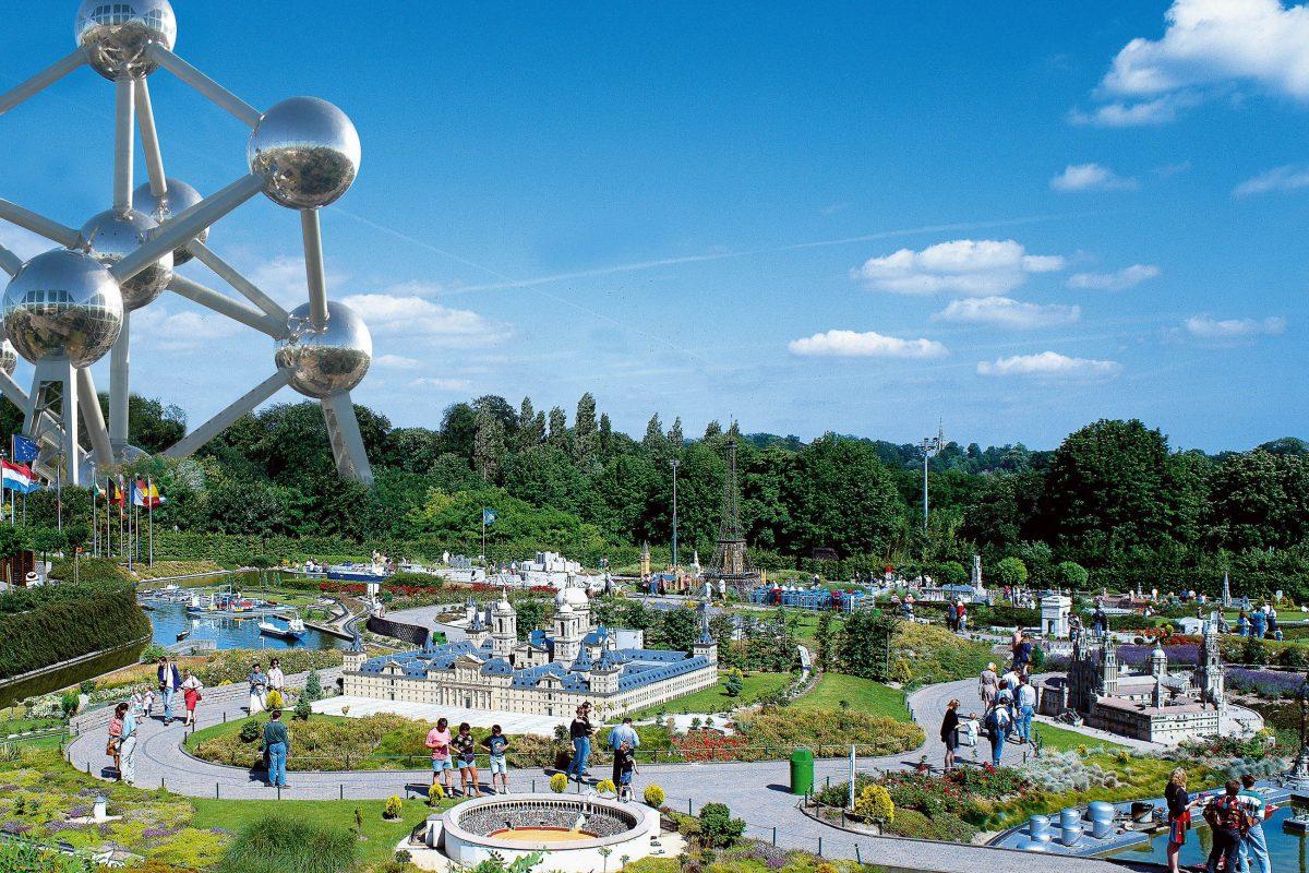 Gleich neben dem Atomium liegt mit dem Mini-Europa-Park die nächste Sehenswürdigkeit von Brüssel, Belgien - © Mini Europe