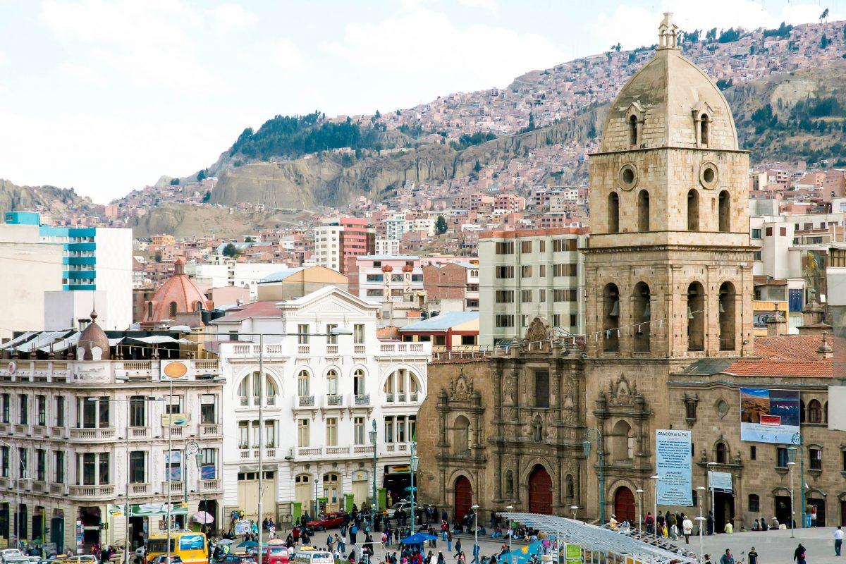 Das Kloster San Francisco ist das älteste Kloster von Bolivien und bietet auch ein Museum und eine grandiose Aussicht über Potosí - © Adwo / Shutterstock