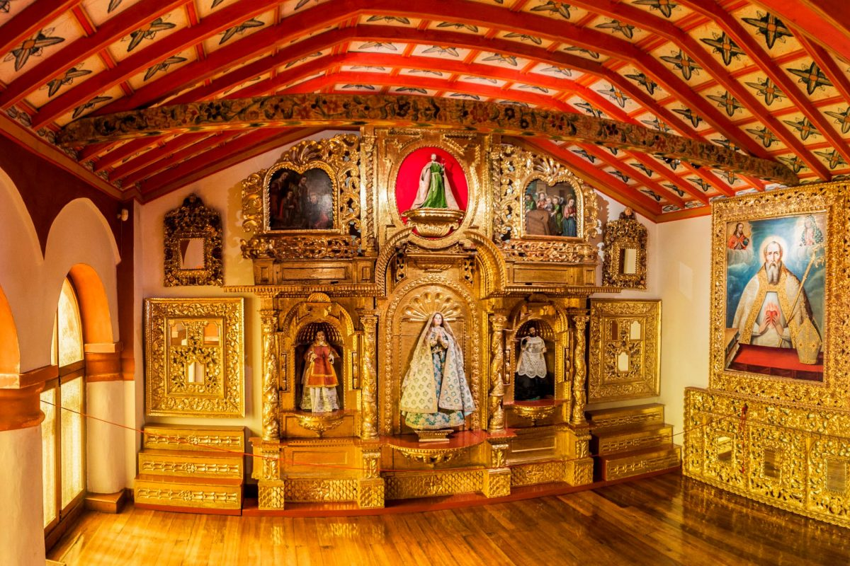 Die Räumlichkeiten des Klosters Santa Teresa in Potosí zeigen auf beeindruckende Weise, in welcher Abgeschiedenheit die Karmeliter-Nonnen hier einst lebten, Bolivien - © Matyas Rehak / Shutterstock