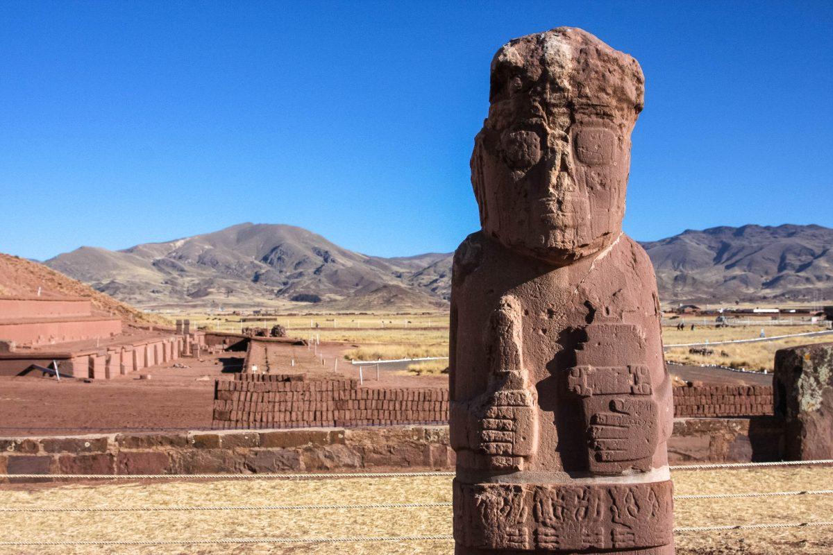 Tiwanaku fungierte ab etwa 300 vor Christus als Verwaltungs- und spirituelles Zentrum der Aymara-Kultur in Bolivien - © Pierre-Jean Durieu / Shutterstock