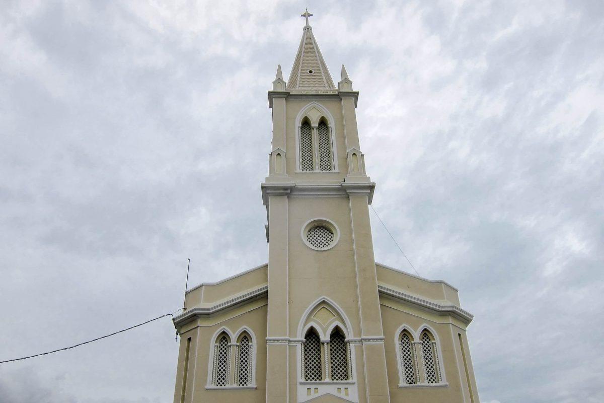 Von der etwas erhöht gelegenen Igreja do Santo Antônio bietet sich ein schöner Rundblick über Aracaju, Brasilien - © FRASHO / franks-travelbox