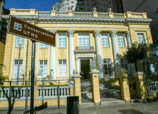 Das UFMG Konservatorium in Belo Horizonte, Brasilien - © Anthony Correia / Shutterstock
