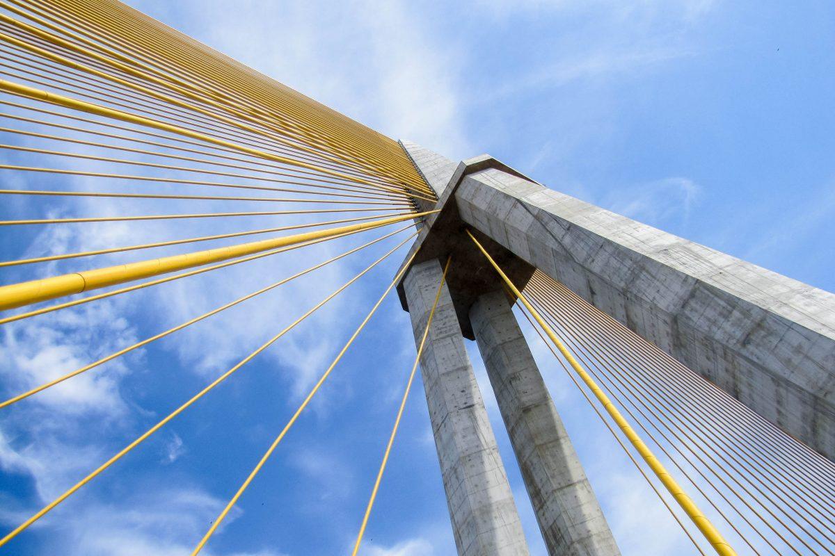 Die Manaus-Iranduba-Brücke ist die einzige Brücke über den brasilianischen Teil des Rio Negro und eine der größten Schrägseilbrücken Brasiliens - © guentermanaus / Shutterstock