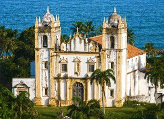 Die Kirche Santo Antonio do Carmo in der malerischen Barockstadt Olinda in Brasilien - ©  ostill / Shutterstock