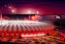 Das Estádio Beira-Rio in der brasilianischen Stadt Porto Alegre ist eine Austragungsstätte der Fußball-WM 2014 - © Copa2014.gov.br CC BY3.0BR/Wiki