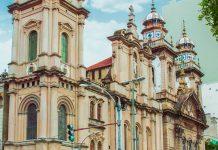 """Als Kapelle des Karmeliter-Ordens Ende des 16. Jahrhunderts errichtet war die """"Alte Kathedrale"""" von Rio de Janeiro einst Bischofssitz der Stadt, Brasilien - © AleksandarTodorovic/Shutterstock"""
