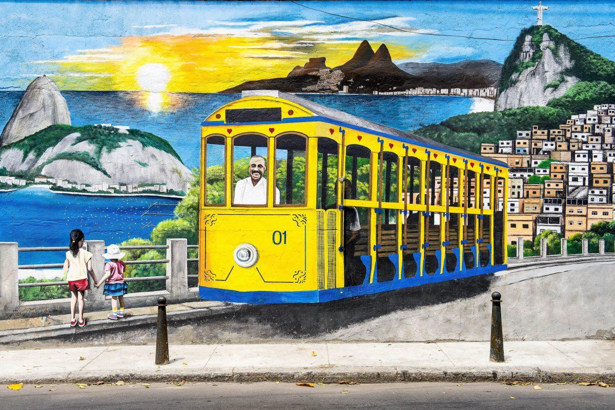 Bilder Stadtteil Santa Teresa In Rio De Janeiro Brasilien Franks