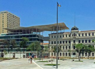 Das Museu de Arte do Rio (MAR) im Zentrum von Rio die Janeiro beeindruckt auch durch seine einzigartige Architektur, Brasilien - © Mariordo CC BY SA4.0/Wiki