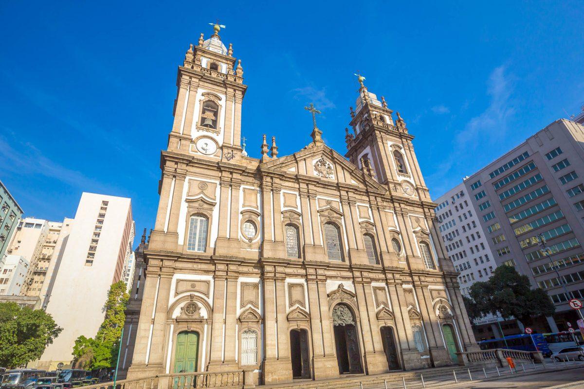 Candelária Kirche in Rio de Janeiro Brasilien
