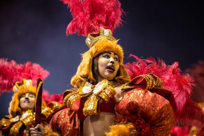 Die Vielfalt der Kostüme beim Karneval in Rio de Janeiro ist beeindruckend, aber auch überwältigend, Brasilien - © Celso Pupo / Shutterstock