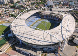 Im Olympiastadion João Havelange in Rio de Janeiro, Brasilien, werden die Leichtathletik-Bewerbe der Olympischen Spiele 2016 ausgetragen - © A.RICARDO / Shutterstock