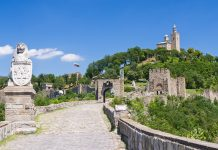 Die Festung Tsarevets aus dem Mittelalter  war damals die bedeutendste Burg des bulgarischen Reiches, Bulgarien - © melann411 / Fotolia