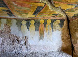 Die Schöpfer der Fresken in den Felsenkirchen von Iwanowo, Bulgarien, sind heute allesamt nicht mehr bekannt - © FRASHO / franks-travelbox