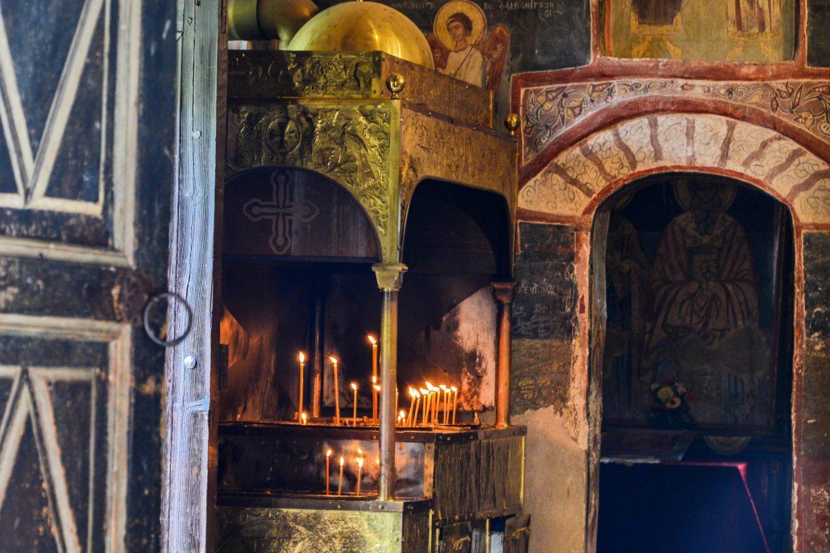Außer einigen Verkaufsständen vor dem Kloster von Rozhen gibt es nichts, was die beschaulich ruhige Atmosphäre stören könnte, Bulgarien - © FRASHO / franks-travelbox