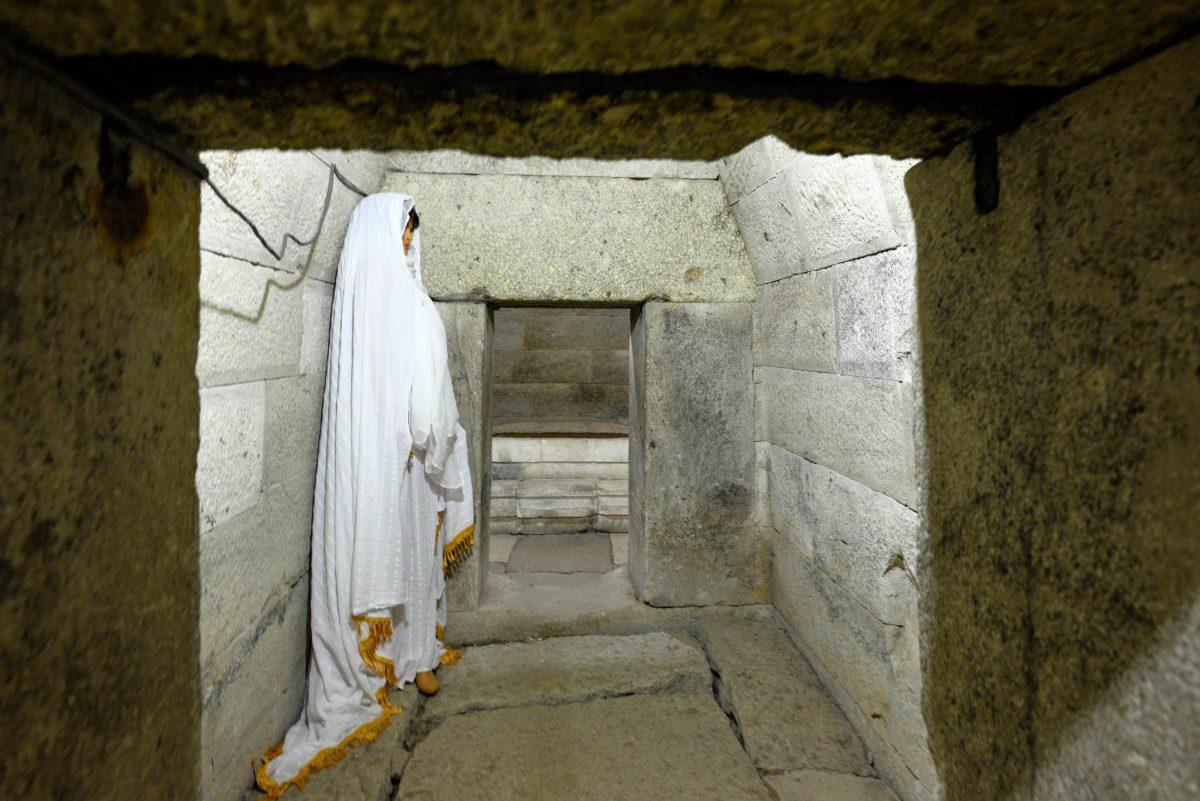 Vermutlich wurde das Thrakergrab bei Mezek nicht nur als Begräbnisstätte, sondern auch als Kultstätte für den thrakischen Totenkult genutzt, Bulgarien - © FRASHO / franks-travelbox