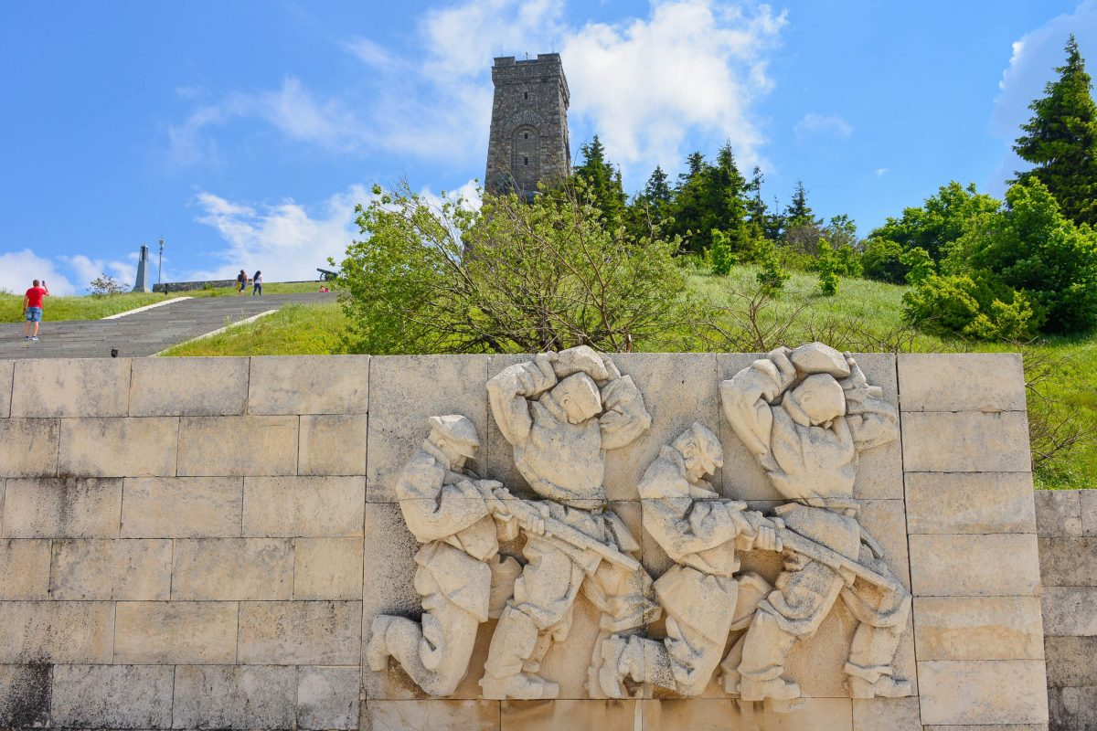 """Die """"Schlacht am Schipkapass"""" zwischen den Türken und Russen gilt als Befreiungsschlacht Bulgariens vom türkischen Joch - © FRASHO / franks-travelbox"""