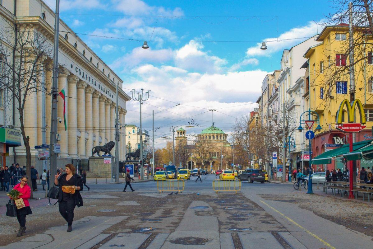 2007 lag der Vitosha Boulevard in Sofia, Bulgarien, auf der Liste der weltweit teuersten Einkaufsstraßen sogar auf Platz 22 - © pavel dudek / Shutterstock