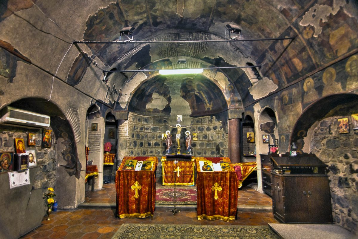 Die ältesten Fresken in der unscheinbaren Kirche Sweta Petka im Zentrum von Sofia gehen auf das 14. Jahrhundert zurück, Bulgarien - © Ann Wuyts CC BY 2.0/Wiki