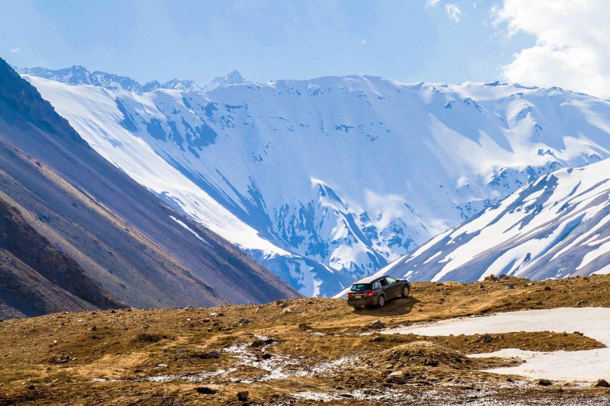 An Wochentagen hat man den Cajon del Maipo bei Santiago de Chile oft ganz für sich alleine - © Anky / Shutterstock