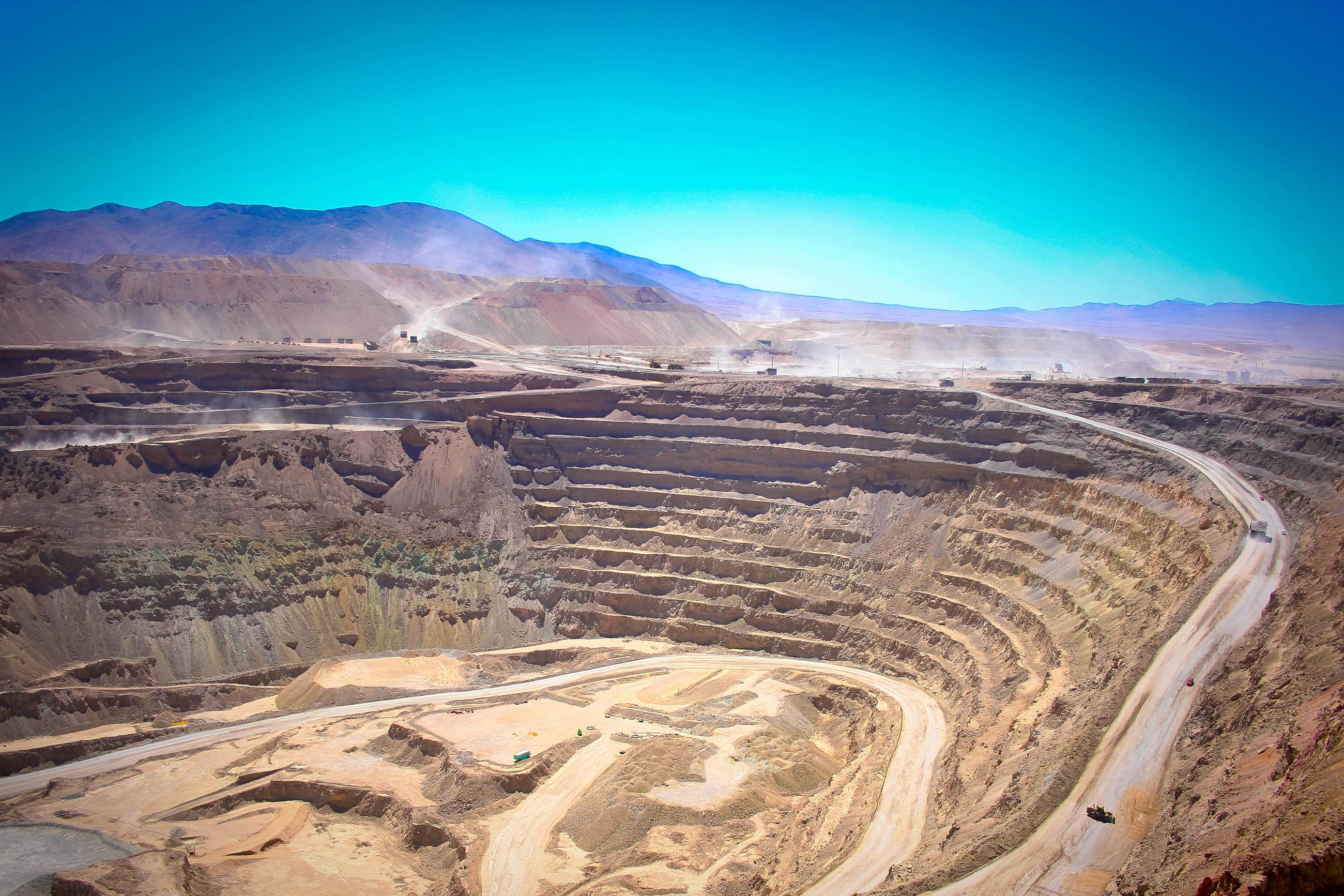 Kupferabbau Chile