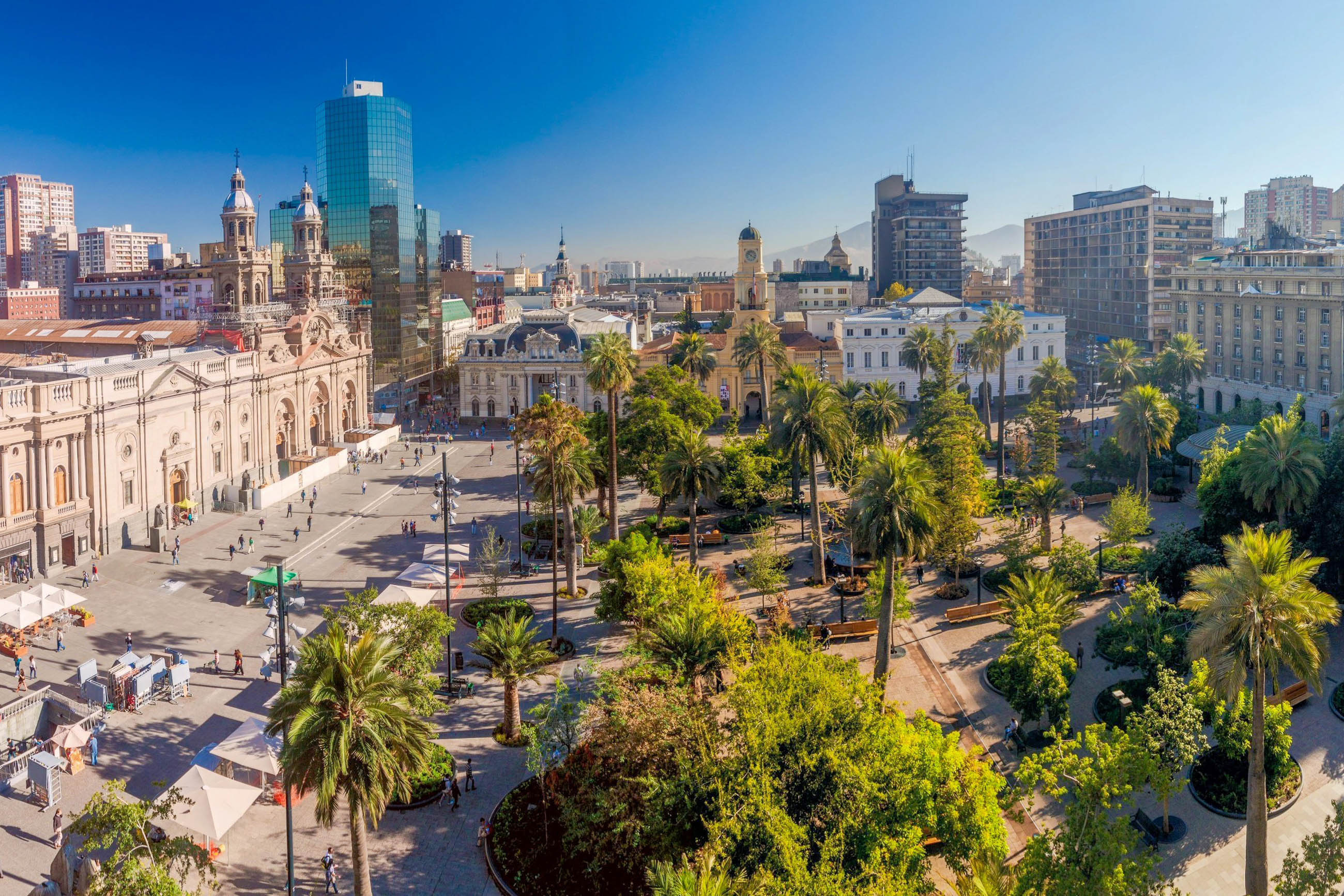 Bilder plaza de armas santiago de chile chile franks for Architektur chile