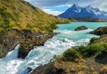 Wasserfall im Nationalpark Torres del Paine, Chile - © orxy / Shutterstock