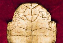 Die Schriftzeichen auf den Orakelknochen von Yin Xu wurden als Vorläufer der chinesischen Sprache identifiziert, China - © Jun Mu / Shutterstock