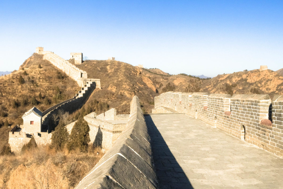 Panoramaansicht der Chinesischen Mauer, China - © XtravaganT / Fotolia