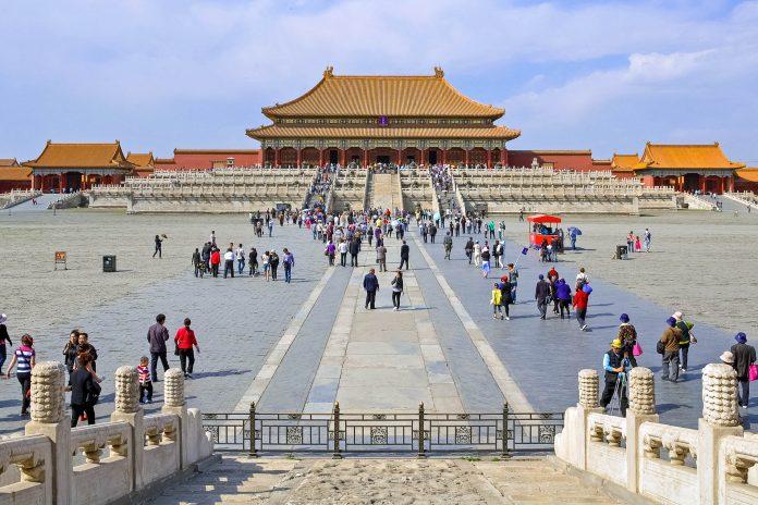 Die Verbotene Stadt in Peking war früher nur dem Kaiser und seinem Gefolge vorbehalten und für die Bevölkerung streng abgeschirmt, China - © ReSeandra / Fotolia