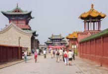 Die chinesische Stadt Pingyao ist vor allem für ihre außergewöhnlich gut erhaltene Stadtmauer und ihr historisches Zentrum aus der Ming-Zeit bekannt, China - © bobroy20 / Fotolia