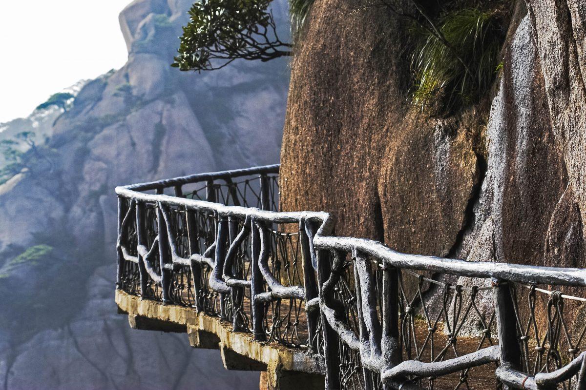 Schwindelerregende Möglichkiet, den Shanqing Shan Nationalpark zu erkunden, China - © frank huang / Fotolia