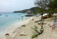 Der kleine Strand in der Sint Michielsbaai auf Curaçao lockt mit unberührter Küste - © Lila Pharao / franks-travelbox